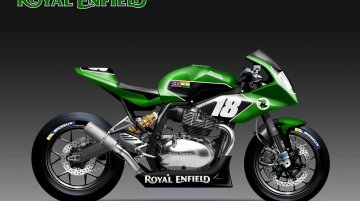 Royal Enfield Continental GT 650 Endurance racer imagined - Rendering