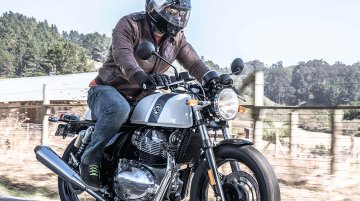 Royal Enfield Continental GT 650 BS6 arrives at dealerships, launch soon