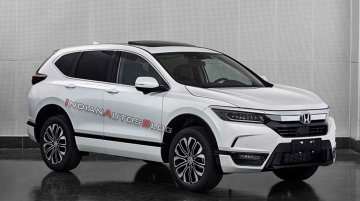 Scoop: Honda Breeze (Honda CR-V twin) exterior leaked