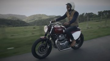 Custom Royal Enfield Interceptor INT 650 called Gallinella will take you back in time [Video]