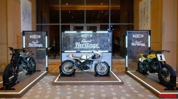 Yamaha XSR155 based custom bikes showcased in Thailand