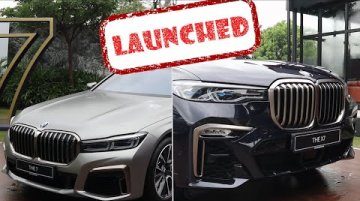 BMW X7 and 2019 BMW 7 Series (facelift) launched in India | Price, Specs & Features