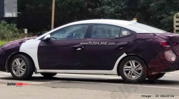 2019 Hyundai Elantra (facelift) spied again weeks before launch