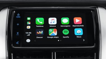 Toyota Yaris gains Apple CarPlay & Android Auto support in Brazil