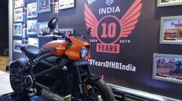 Harley-Davidson LiveWire makes Indian debut