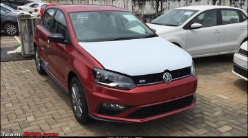 New VW Polo GT (facelift) spied completely undisguised