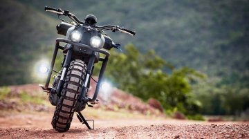 K-Speed transforms Yamaha XSR155 into an off-road beast