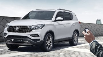 SsangYong G4 Rexton (Mahindra Rexton G4) gets a facelift in South Korea