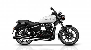 2020 Royal Enfield Thunderbird Cruiser - IAB Rendering