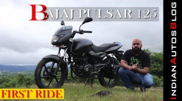 Bajaj Pulsar 125   First Drive Review   Does the baby Pulsar have that X factor?