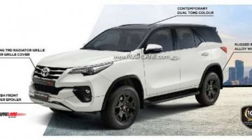 New Toyota Fortuner TRD Sportivo brochure leaked, to be launched on 12 September