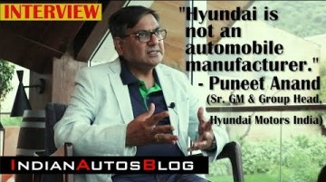 Interview with Puneet Anand   Grand i10 Nios, Electric Mobility & Future Launches