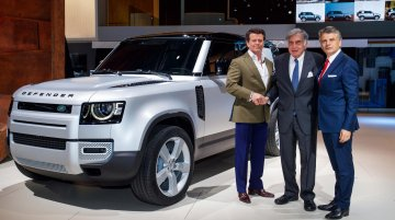 2020 Land Rover Defender launched in India, priced from INR 69.99 lakh