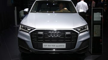 India-bound 2019 Audi Q7 (facelift) at 2019 Frankfurt Motor Show - In 7 Live Images