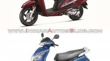 BS-VI Honda Activa 125 vs. BS-IV Honda Activa 125 - Old vs. New