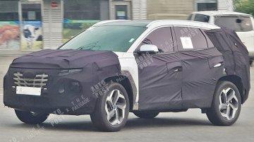 India-bound next-gen 2020 Hyundai Tucson spied once again