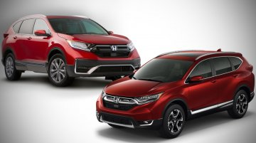 2020 Honda CR-V (facelift) vs. 2017 Honda CR-V - Old vs. New