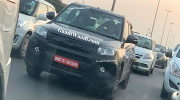 2020 Maruti Vitara Brezza spied testing for the first time