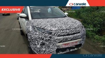 2020 Tata Nexon (facelift) with sharp new headlamps spied again