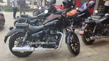 Near production-ready Royal Enfield Thunderbird X BS-VI spotted again