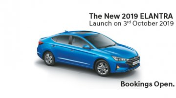2019 Hyundai Elantra (facelift) to be launched on 3 October, pre-bookings open