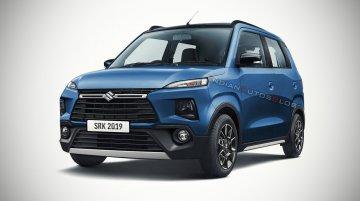 Maruti Wagon R premium variant - IAB Rendering