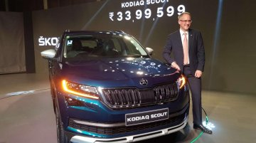 Skoda Kodiaq Scout launched in India, priced at INR 34 lakh