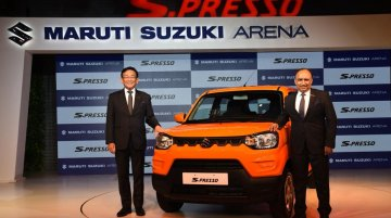 Maruti S-Presso launched in India, priced from INR 3.69 lakh