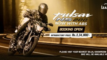 Made-in-India Bajaj Pulsar NS200 ABS bookings commenced in Nepal
