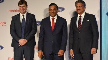 Ford ends independent operations in India, forms JV with Mahindra