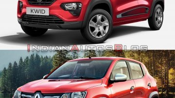 2020 Renault Kwid (facelift) vs 2016 Renault Kwid - Old vs New