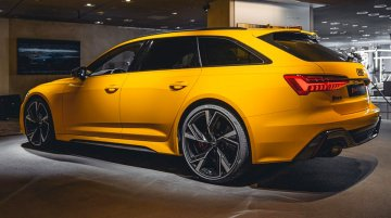 Vegas Yellow 2020 Audi RS 6 Avant checked with options looks absolutely stunning