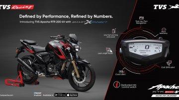 SmartXonnect के साथ ब्लूटूथ-इनेबल्ड TVS Apache RTR 200 4V लॉन्च, कीमत INR 1.14 लाख