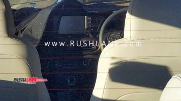 Hyundai Xcent successor interior spied for the first time