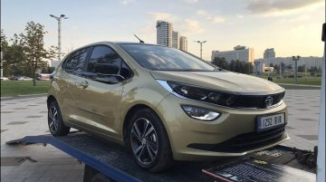 UK-registered Tata Altroz reaches Belarus for an ad shoot