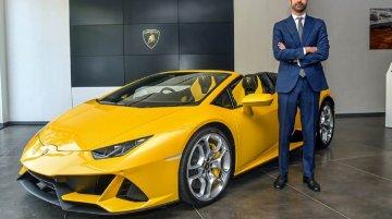Lamborghini Huracan Evo Spyder भारत में हुई लॉन्च, प्राइस 4.1 करोड़ रुपए