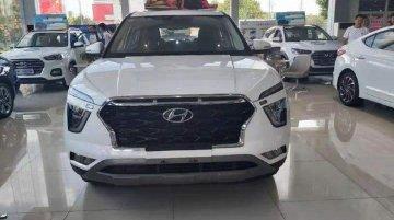 शो-रूम में पहली बार 2020 Hyundai ix25 (Hyundai Creta) दिखी, देखें 6 तस्वीरें