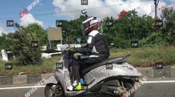 BS-VI compliant Yamaha Fascino makes spy photo debut