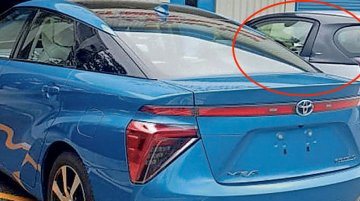 What's the Toyota eQ doing at a TKM plant in India?