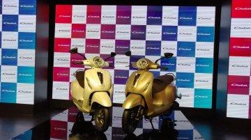 Bajaj Chetak electric scooter unveiled
