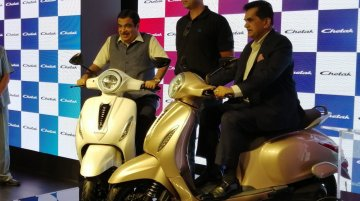 Bajaj Auto to launch more Chetak electric scooters, says prototypes ready