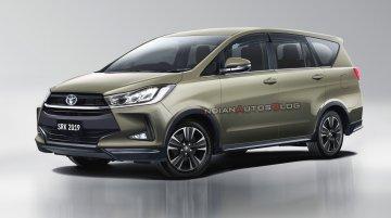 2020 Toyota Innova Crysta (facelift) - IAB Rendering