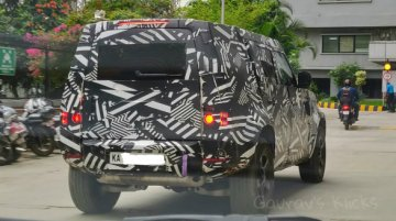 2020 Land Rover Defender Spotted in India Again
