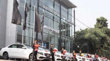 Mercedes-Benz India delivers 600 cars on Dhanteras