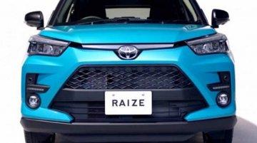 नवम्बर में Toyota Raize सब -4 मीटर SUV का होगा डेब्यू, जानें डिटेल