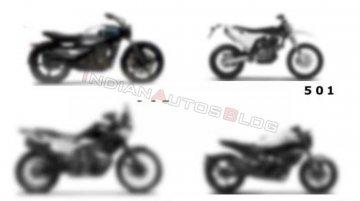 World Exclusive: KTM 490 parallel-twin based Husqvarna 501 series under development