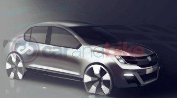 Renault mulling made-for-India sub-4 sedan - Report