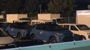 Toyota Raize sub-4 metre SUV leaked online [Update]