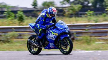 2019 Suzuki Media Endurance Race: Suzuki Gixxer SF 250 SF ridden on Kari Motor Speedway