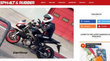 Aprilia Tuono 660 makes spy photo debut